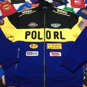 Ralph Lauren Polo Racing Double Knit Jacket